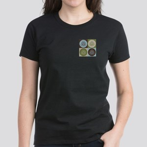 Radiation Therapy Pop Art Women's Dark T-Shirt