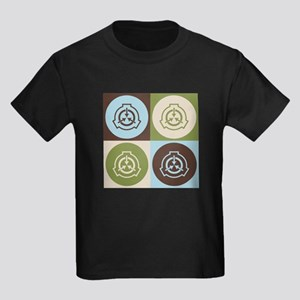 Radiation Therapy Pop Art Kids Dark T-Shirt