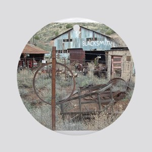 Ghost Town Ornament (Round)