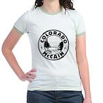 Colorado For McCain (Black) Jr. Ringer T-Shirt