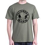Colorado For McCain (Black) Dark T-Shirt