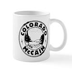 Colorado For McCain (Black) Mug