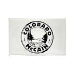 Colorado For McCain (Black) Rectangle Magnet (100