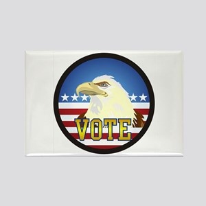 VOTE Rectangle Magnet
