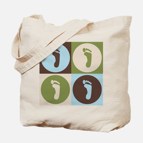 Podiatry Pop Art Tote Bag