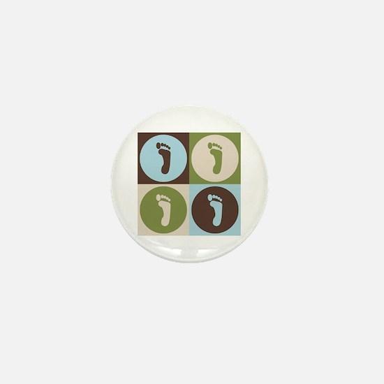 Podiatry Pop Art Mini Button