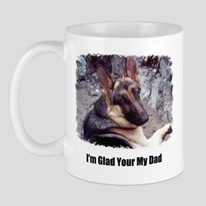 GLAD YOUR MY DAD Mug