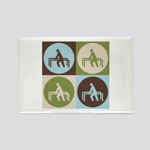 Physical Therapy Pop Art Rectangle Magnet