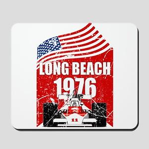 Long Beach 1976 Mousepad