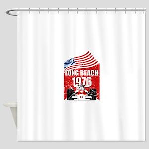 Long Beach 1976 Shower Curtain