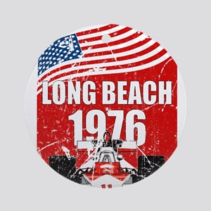 Long Beach 1976 Round Ornament