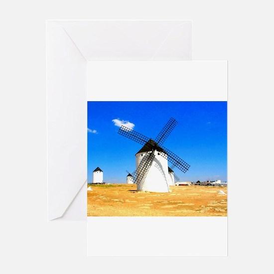 Cute Spain Greeting Card