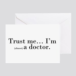 """Trust me..."" Greeting Card"