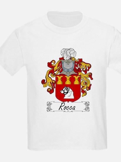 Rocca Family Crest Kids T-Shirt