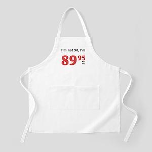 Funny Tax 90th Birthday BBQ Apron