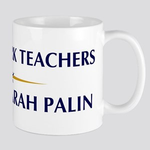 SOCIAL WORK TEACHERS supports Mug