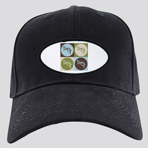Optics Pop Art Black Cap