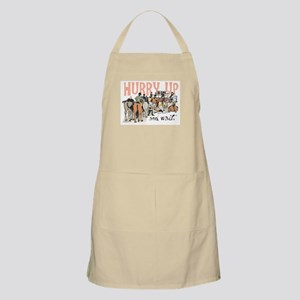 Hurry Up and Wait Grooming Apron