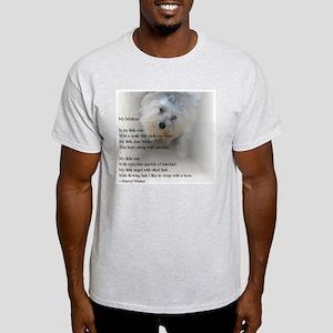 Maltese Poem Ash Grey T-Shirt