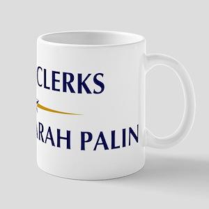 OFFICE CLERKS supports Palin Mug