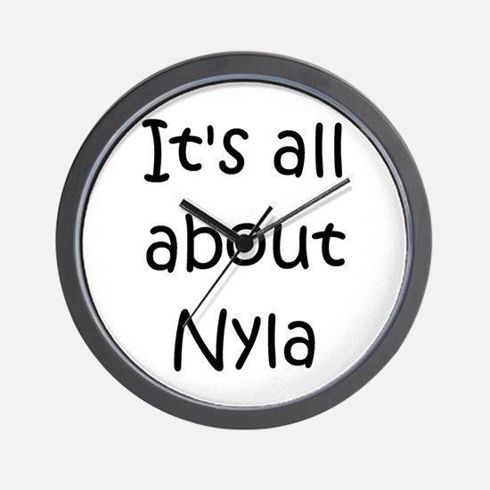 Cute Nyla Wall Clock
