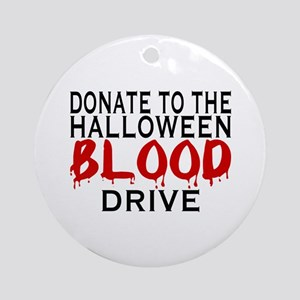 Blood Drive Ornament (Round)