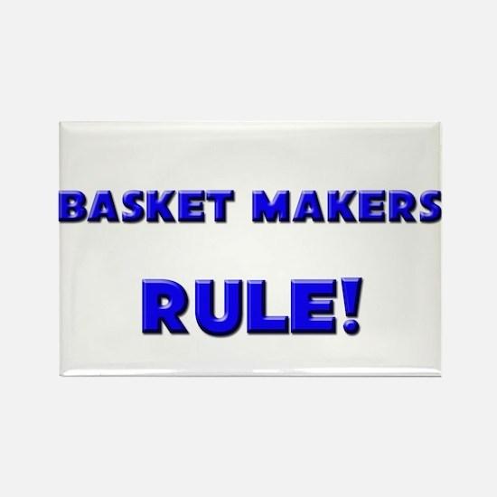 Basket Makers Rule! Rectangle Magnet