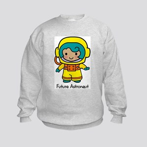 Future Astonaut - Girl Kids Sweatshirt