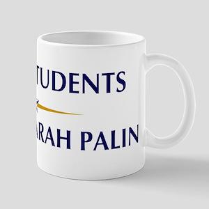 DRAMA STUDENTS supports Palin Mug