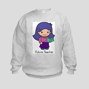 Future Teacher - girl Kids Sweatshirt