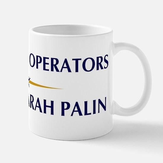 DATA ENTRY OPERATORS supports Mug