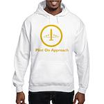Pilot On Approach Hooded Sweatshirt