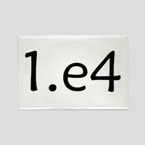 1.e4 Rectangle Magnet