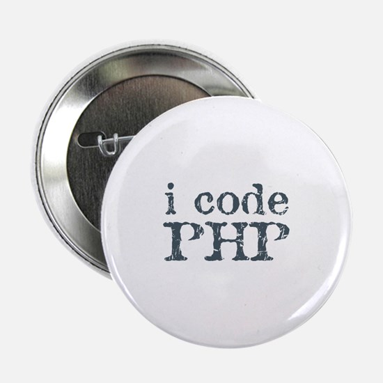 "i code php 2.25"" Button"