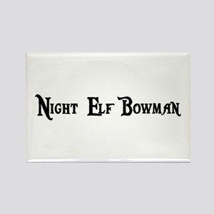 Night Elf Bowman Rectangle Magnet