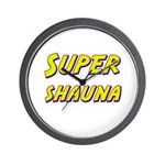 Super shauna Wall Clock