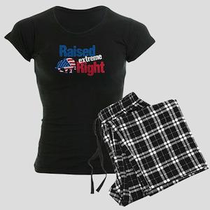 Raised Ext Right Women's Dark Pajamas