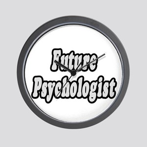 """Future Psychologist"" Wall Clock"