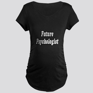 """Future Psychologist"" Maternity Dark T-Shirt"