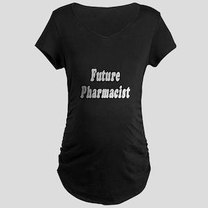 """Future Pharmacist"" Maternity Dark T-Shirt"