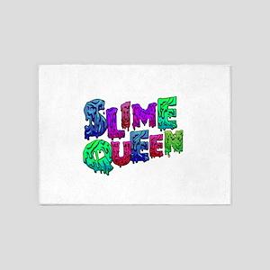 Slime Queen Kids Shirt - slime maki 5'x7'Area Rug