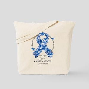 BC Butterfly Ribbon Tote Bag