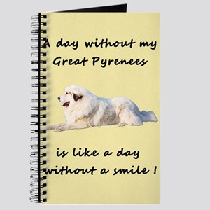 Great Pyrenees Journal creme