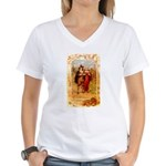 Pilgrims Women's V-Neck T-Shirt