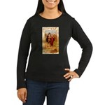 Pilgrims Women's Long Sleeve Dark T-Shirt