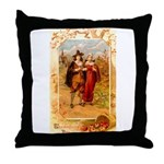 Pilgrims Throw Pillow