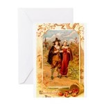 Pilgrims Greeting Card