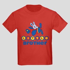 Aviator Bunny Little Brother Kids Dark T-Shirt