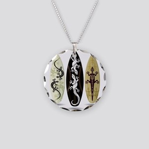 Tribal Surfboards Necklace