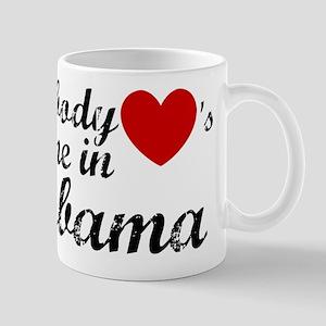 Somebody loves me in Alabama Mug